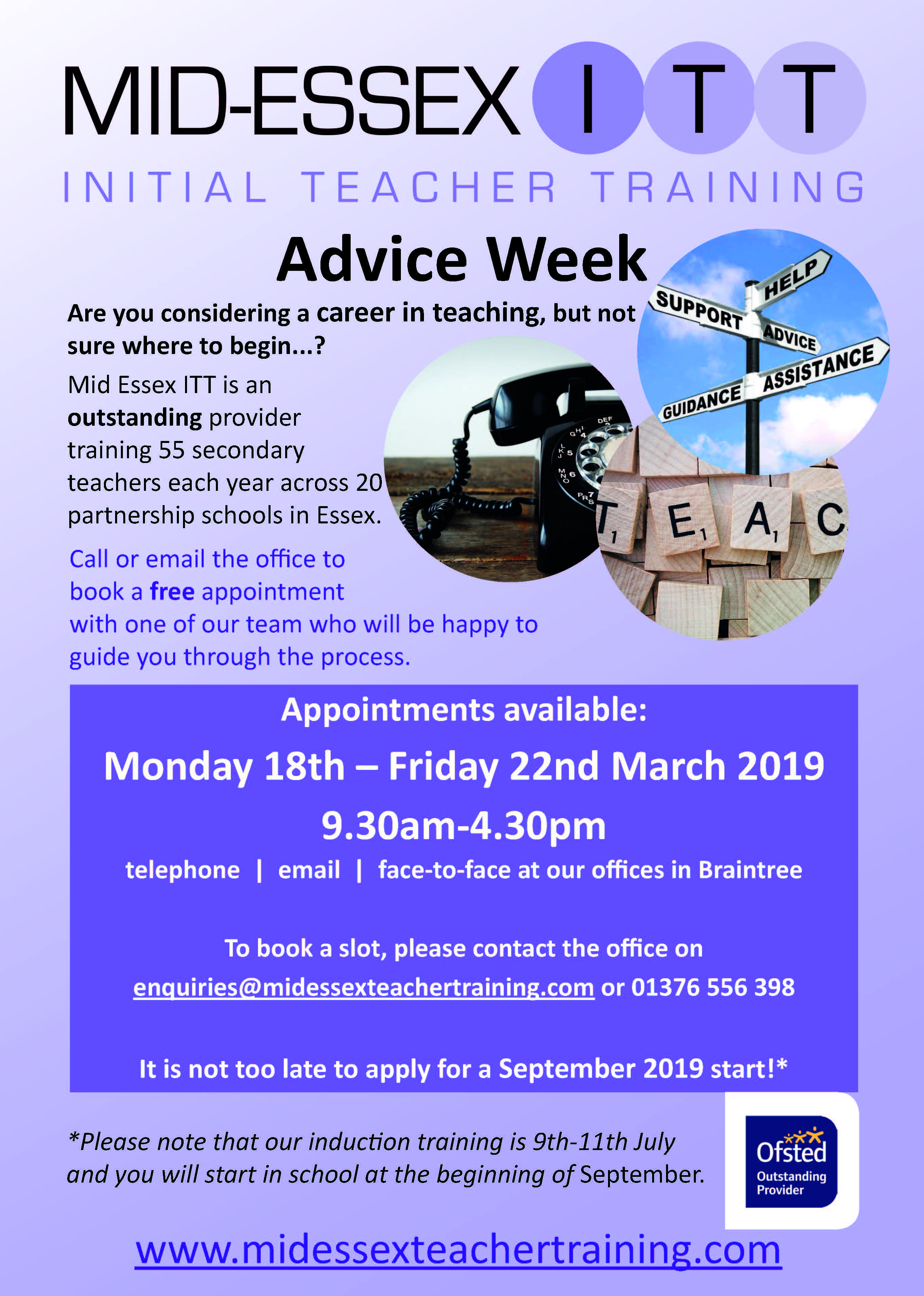 COMING SOON: Advice Week