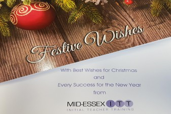 Happy Christmas from Mid Essex ITT!