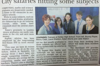 Mid Essex is in the Essex Chronicle!