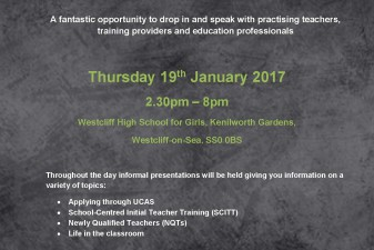 Come and meet us in Westcliff on Thursday 19th January!