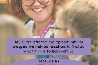 Come along to our next Taster Day on Thursday 11th May 2017!